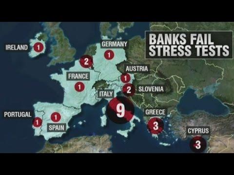 25 banks fail Europe's stress test