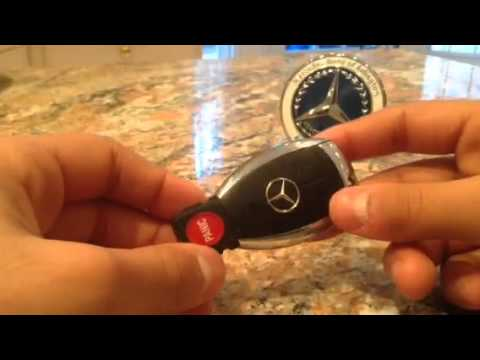 Changing Mercedes Key Battery