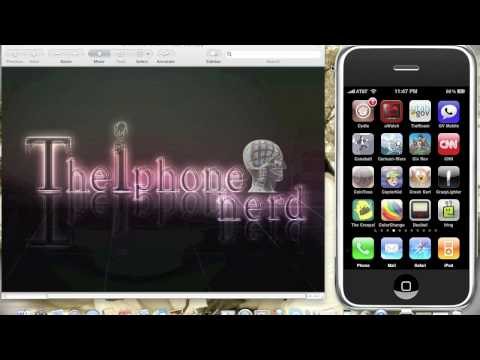 How to change iphone themes background  easy, full walk through... Music Videos