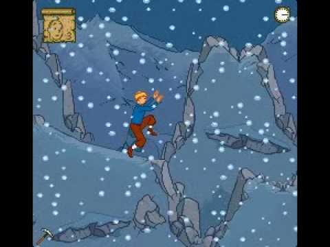 Soluce Tintin au Tibet partie 7/9 - Tempête de neige