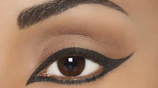 فيديو تعليمي لكيفية عمل مكياج العيون بطريقة سهلة ومميزة
