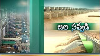 Kaleshwaram Project | Godavari Water Releases From Kannepalli Pump House | to Gravity Canal