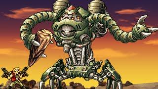 Metal Slug 7 (DS) All Bosses (No Damage)