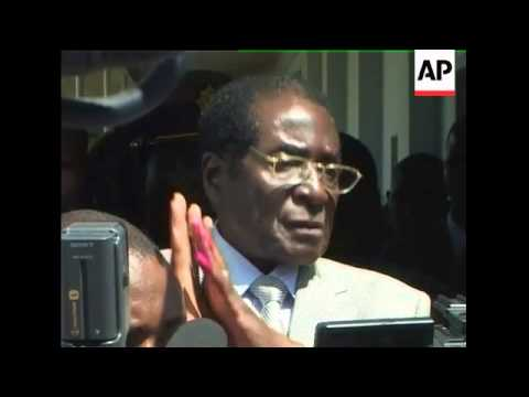 Zimbabwe - Presidential election