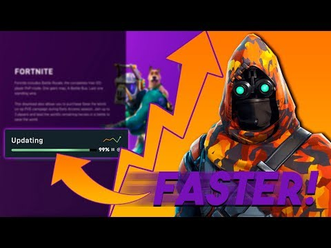 How To Make Fortnite Download Faster (Epic Games)