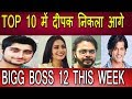 #BIG BOSS 12 | TOP 10 OF THIS WEEK | DIPIKA KAKAR | DEEPAK THAKUR | SHRRESANTH | K.V HUNGRY SPIRITS
