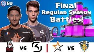 CRL Europe: Misfits v. SK Gaming   Allegiance v. Team Queso
