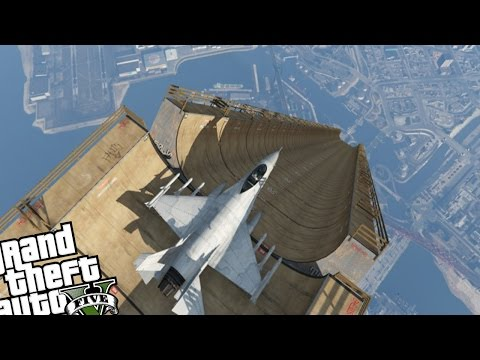 Gta 5 Biggest Ramp Ever Turbo Mod