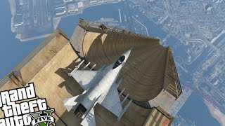 GTA 5 - BIGGEST RAMP EVER + TURBO MOD