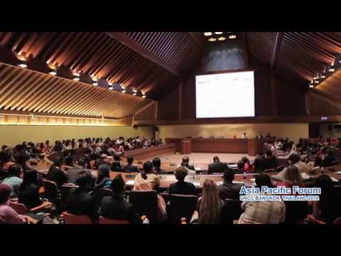 International Youth Gather for the Asia Pacific Forum at UN Bangkok