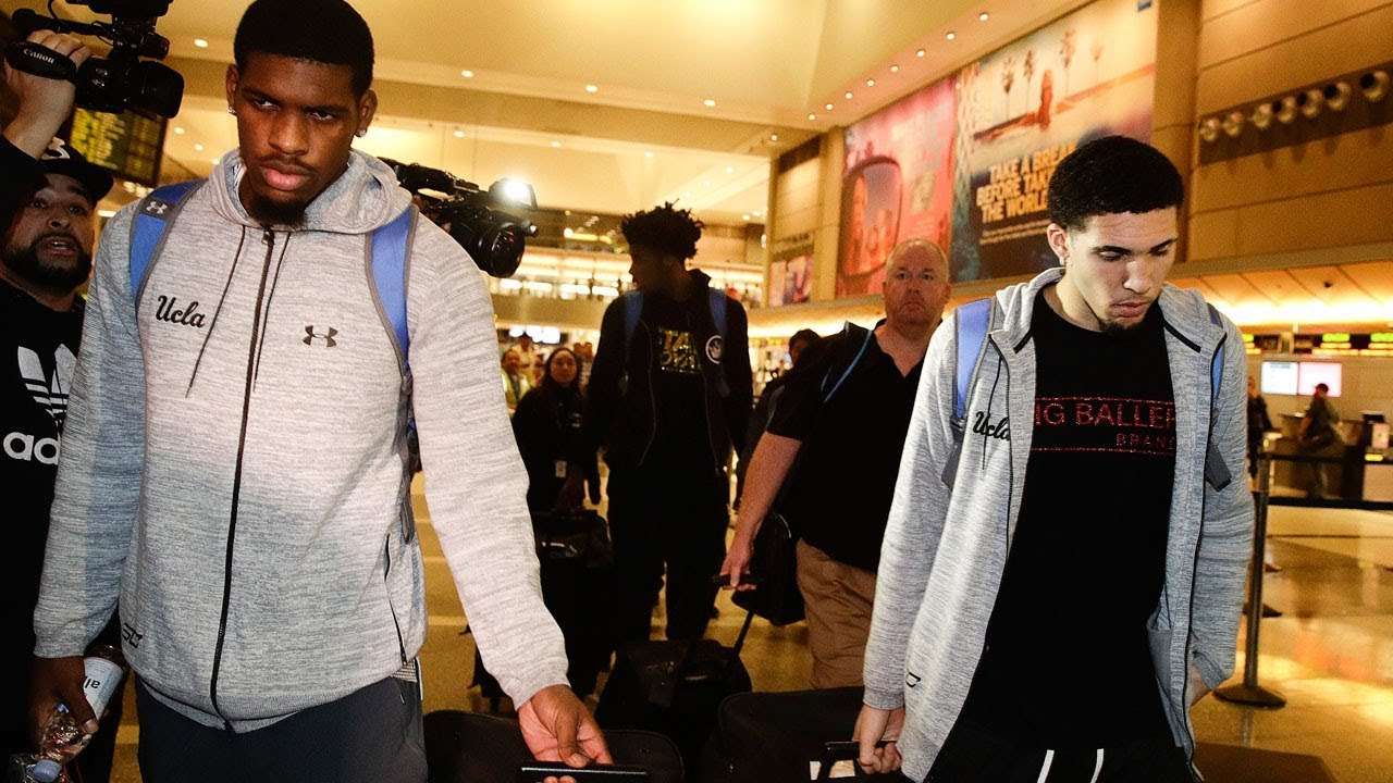 LiAngelo Ball and fellow teammates arrested for shoplifting in China return home