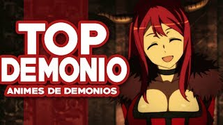 Los Mejores Animes de Demonios