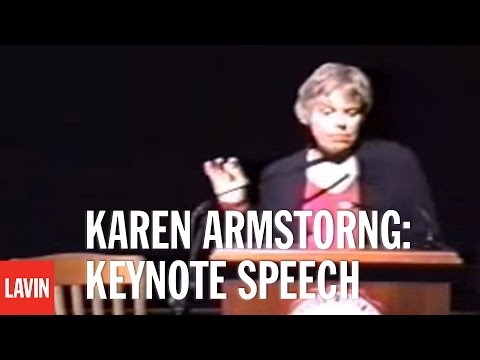 Karen Armstorng Lecture