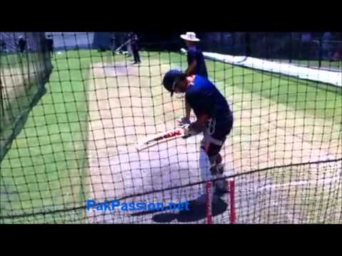 Indian Team Net Session: Gautam Gambhir, Adelaide Oval,  22 Jan 2012, Adelaide,  Australia