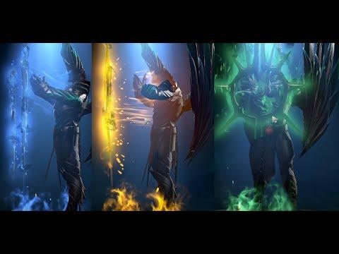 Dota 2 большой обзор аркан Terrorblade цветные а также