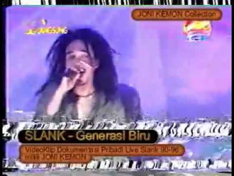 SLANK formasi 13 Generasi Biru Live RCTI 1995