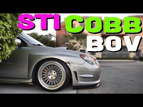 Subaru STI Cobb BOV - HadriaWorks