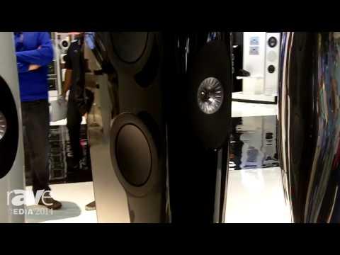 CEDIA 2014: KEF Details the Muon Speaker and Blade Speaker