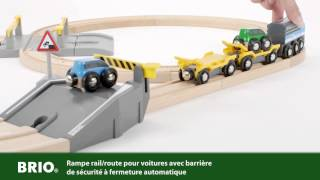BRIO Car Transporter Rail and Road Set 33212 Français