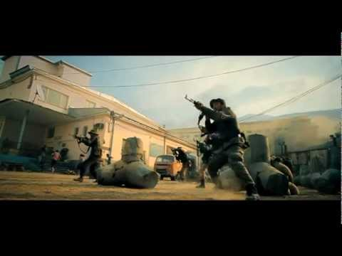 The Expendables 2 | Opening Action Scene video