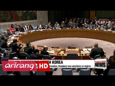 UN Security Council condemns North Korea, vows new sanctions