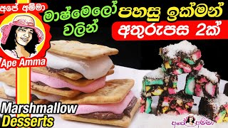 Easy Marshmallow Desserts by Apé Amma