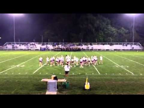Danville High School Cheerleaders Homecoming Routine 2012