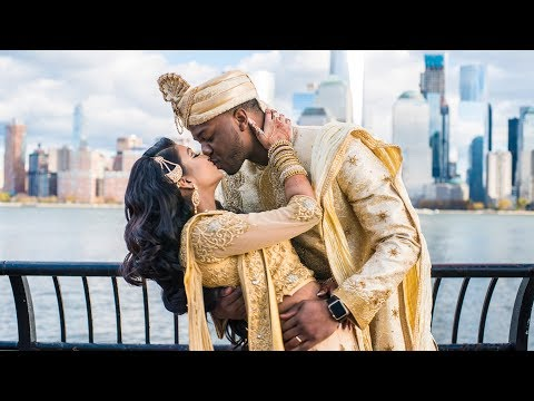 The Arije's Wedding (Interracial Wedding - African and Indian) thumbnail