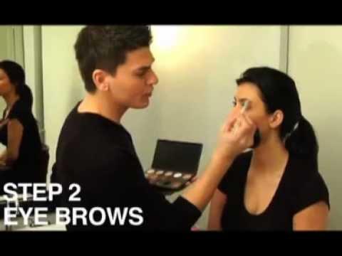 Kim Kardashian and Celebrity Makeup Artist Mario Dedivanovic Makeup Tutorial