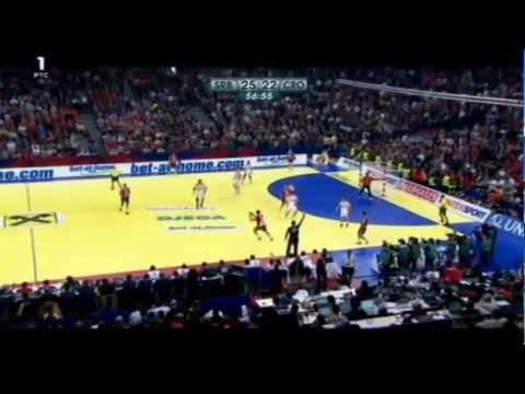 Srbija - Hrvatska 26:22 / polufinale EP - 27.01.12 (cela utakmica)