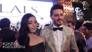 First time nominees Maya Ali and Osman Butt share their thoughts about #LSA2016