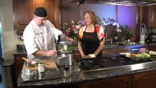 Cooking with Chef Kevin Peasgood