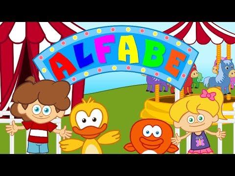 ABC ALFABE şarkısı Sevimli Dostlar Çocuk Şarkıları
