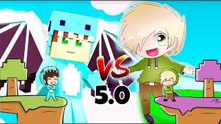 ISLA VS ISLA 5.0!!! ISLA de BEBE MILO VS ISLA de VITA 🌴 MINECRAFT