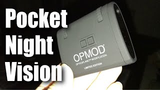 Carson OPMOD DNV 1.0 Limited Edition MiniAura Digital Night Vision Pocket Monocular Review