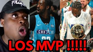 QUAVO VS FAMOUS LOS REACTION !!!!! FAMOUS LOS MVP !! 2019 NBA CELEBRITY ALL STAR GAME HIGHLIGHTS !!!