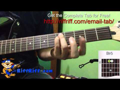 How To Play Smoke On The Water - Guitar Riff - Deep Purple
