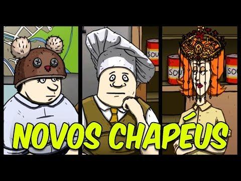 CONSEGUINDO OS NOVOS CHAPÉUS! | 60 Seconds!