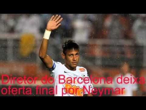 Diretor do Barcelona deixa oferta final por Neymar