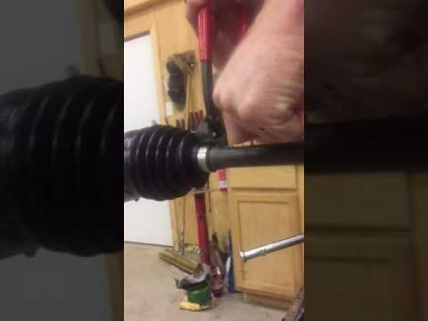 Honda pioneer cv clamp removal