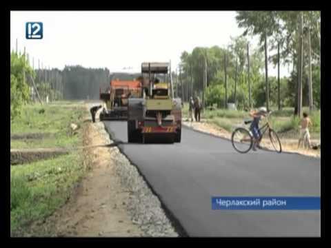 В Омской области фермер строит дорогу в своём селе за свой счёт