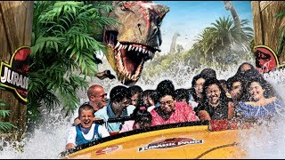 Welcome to Jurassic Park - Complete Ride at Universal Studios Hollywood
