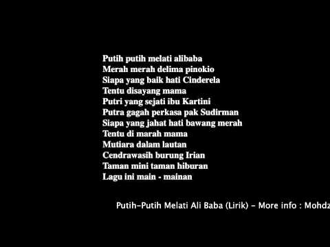 Putih-Putih Melati Alibabahttp://www.mohdzaid.com.