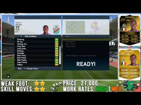 FIFA 14 - IF Moussa Sissoko (77) Player Review w/ In Game Stats & Gameplay