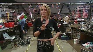 Julia Reed Robot Wars Leather pants