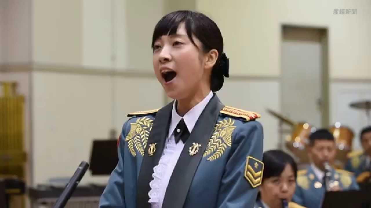 SankeiNews 陸自の歌姫 美しき戦士の歌声 鶫真衣1等陸士 SankeiNews 陸自の