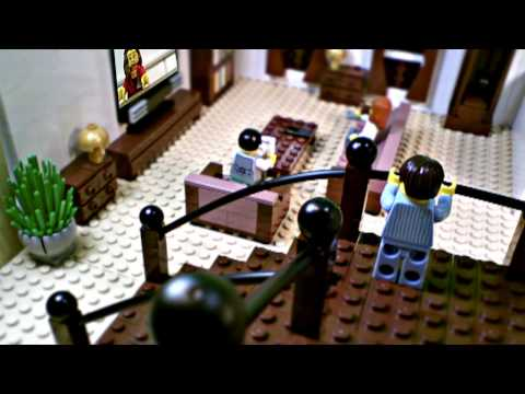 "LEGO® Monster Fighters - Fan Creation: ""There s Monsters In the Room"""