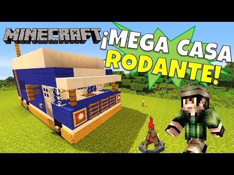 Minecraft: Como hacer una Casa Rodante Super Tutorial Sin Mods.