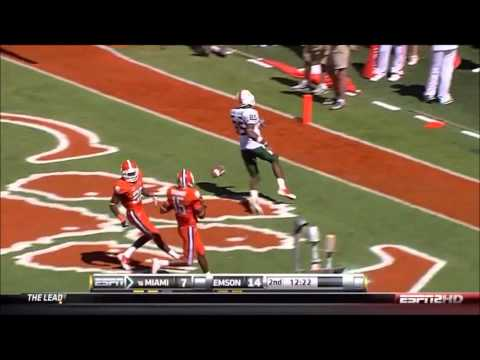 Highlights of Univiersity of Miami standout WR Leonard Hankerson. Make sure you visit HurricaneSportsnation.com for all your FREE Miami Hurricane sports & re...