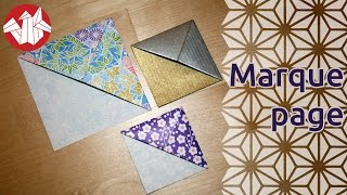 Origami - Marque-page